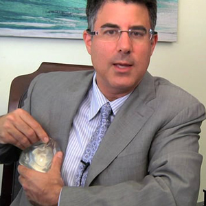 Dr. Andrew Cohen in his office