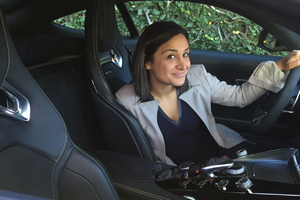 Raha-in-Mercedes-Benz-AMG-GT
