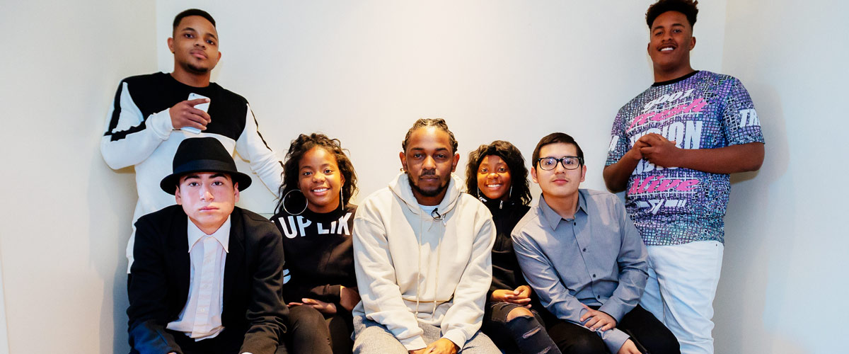 Why Kendrick Lamar took 6 youth from Compton to the Grammy's