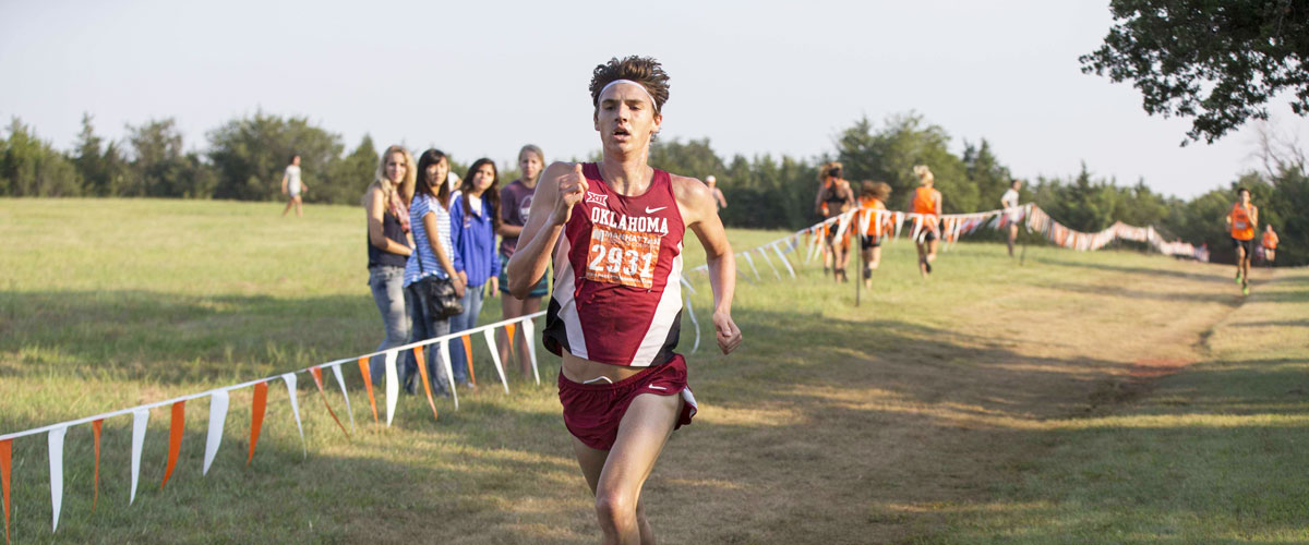 """College Athlete Liam Meirow: """"I have two priorities, school and running."""""""