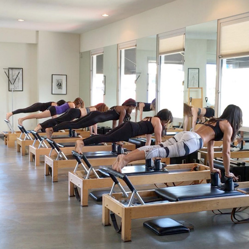 Winsor Choza Studio, Mari's latest pilates studio.