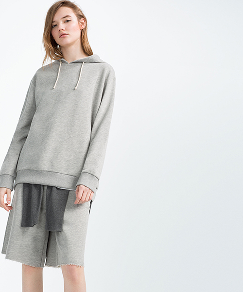 Unisex Sweatshirt from Zara's 'Ungendered' Collection