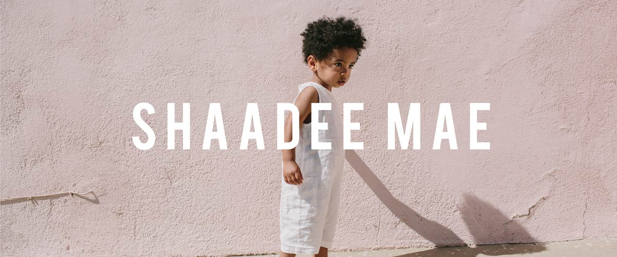 A Plant Based Unisex Clothing Line for Kids— From Shaadee Mae