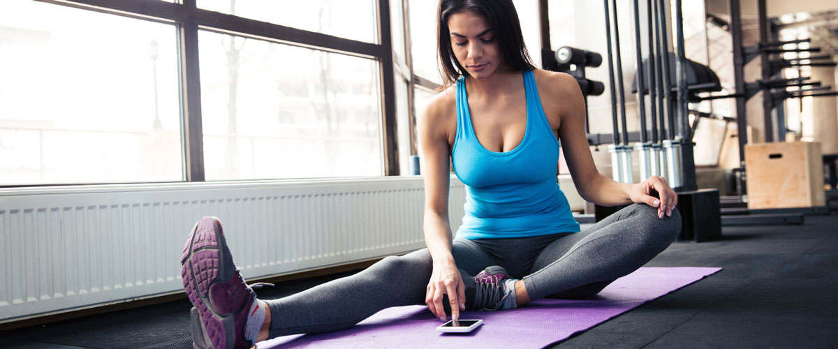 Celebrity Fitness Workout On the Go with Nicole Stuart's QE2 App