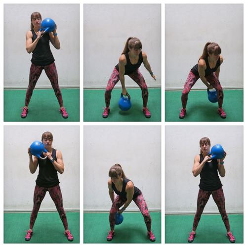 Exercise Kettlebell Figure Eight: 5 Killer Kettlebell Exercises For Your Butt
