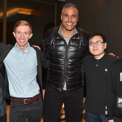 Rick Fox at the Tip Talk launch event