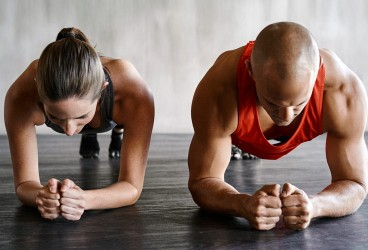 5 Plank Exercises for Couples